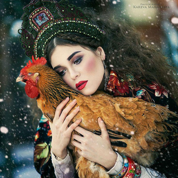 Baśniowy świat na fotografiach Margarity Karewy