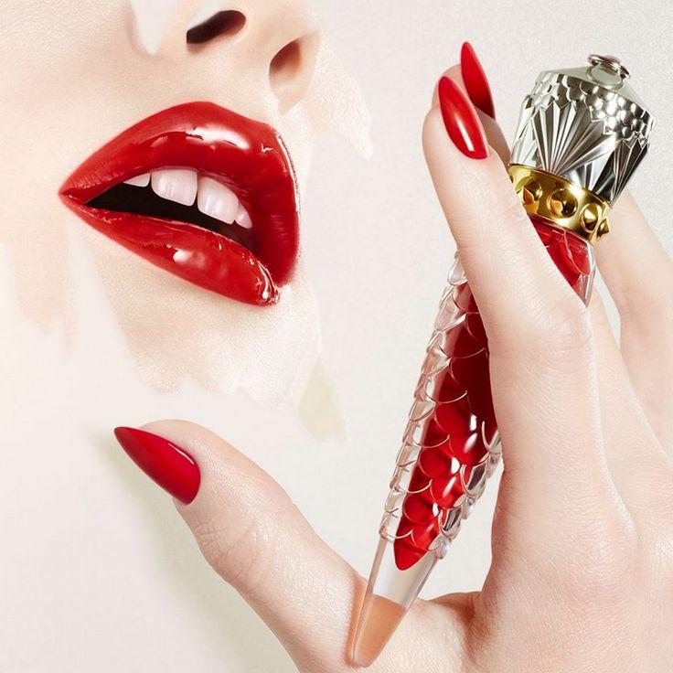Czerwone szpilki iczerwone usta. Zmysłowa nowość Christiana Loboutina
