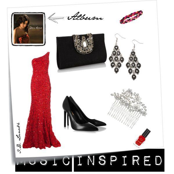 """Diana Navarro, Camino Verde"" - New Year's Eve Inspiration  Read the post >> http://litalospagnola.blogspot.it/2014/01/i-look-ispirati-ai-dischi-new-years-eve.html #music #fashion #spain #italy"