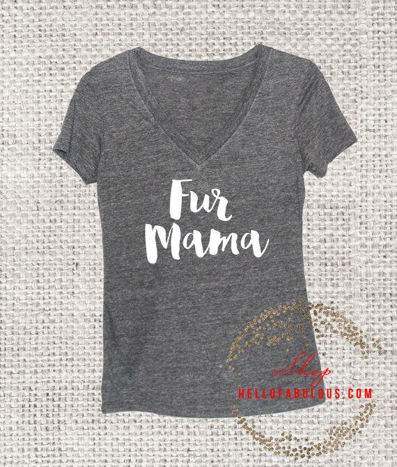 Dog Mom Shirt. Dog lovers. Dog Mom. Animal by HelloFabulousApparel