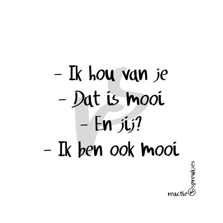 Ik hou van je :) #humor #tekst