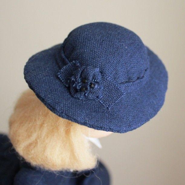 Шляпка #annabalyabina_dolls #аннабалябина_куклы #babyblog #текстильнаякукла #clothdoll #куклаизткани