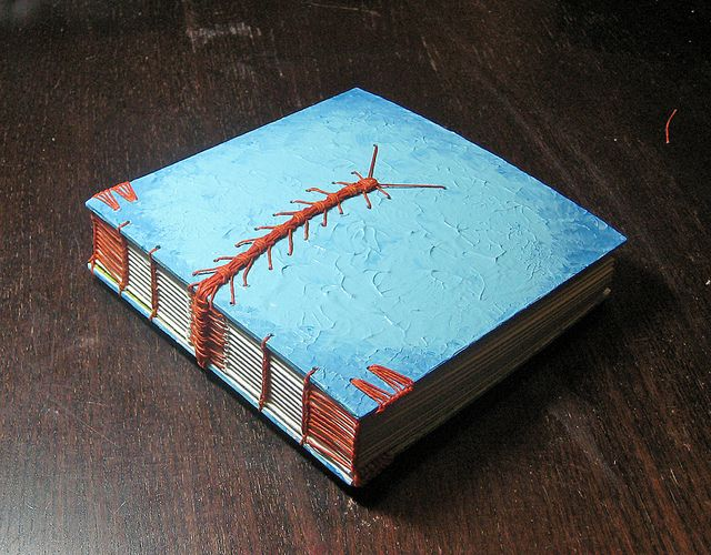 puritas essendi by tussenpozen, via Flickr - this woman makes amazing books