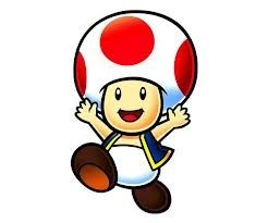 Image result for mario - toad
