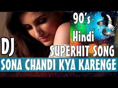 Sona Chandi Kya Karenge Pyar Mein Remix | Alka Yagnik , Udit