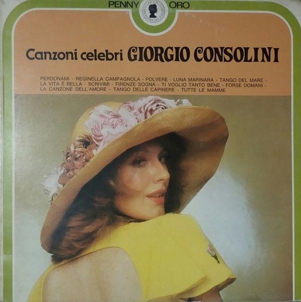 Giorgio Consolini - Canzoni Celebri Giorgio Consolini (Vinyl, LP) at Discogs