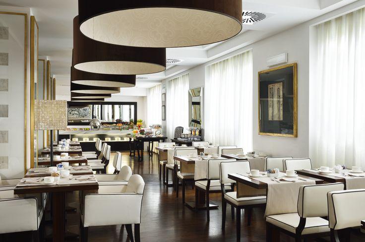 Breakfast room Hotel Pulitzer Roma | #hotel #rome #italy #breakfast #designhotel #design