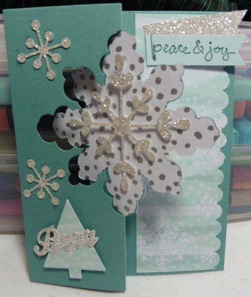 20 best images about stamping up snowflake card thinlits