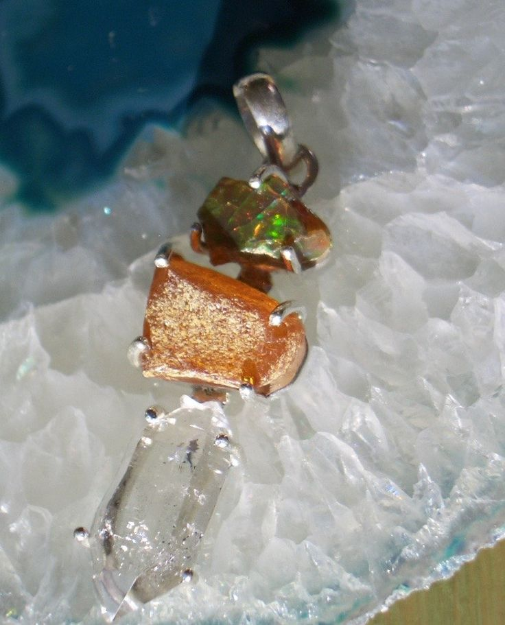 Amazing Combination of Authentic AMBER, Ethiopian OPAL Rough Gemstones and…