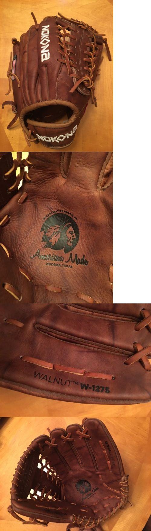 Gloves and Mitts 16030: New Nokona Walnut 12.75 Outfield Baseball Glove W-1275 Free Shipping -> BUY IT NOW ONLY: $169.95 on eBay!