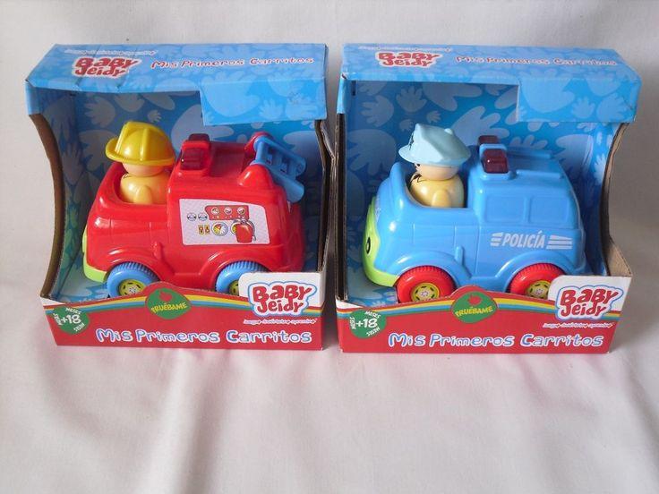 Coche de Juguete Autos Ambulancias y Policia Lote de 2 coches de Bebe BABY JEIDY #BABYJEIDY