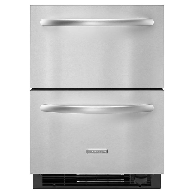 kitchenaid kddc24cvs 4 8 cu ft refrigerator freezer. Black Bedroom Furniture Sets. Home Design Ideas
