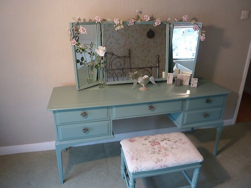Gorgeous Romantic Romeo & Juliet Dressing Table and Stool | eBay