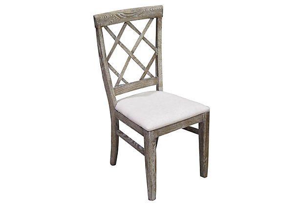 Maynard Chair, Gray on OneKingsLane.com