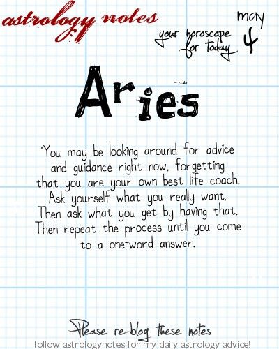 Aries Astrology Note: Want tomorrow's Aries horoscope?   Visit iFate.com today!