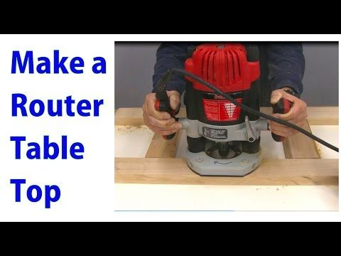 How to build a router table for Woodworking for under $10 - Woodworking video for beginners - YouTube