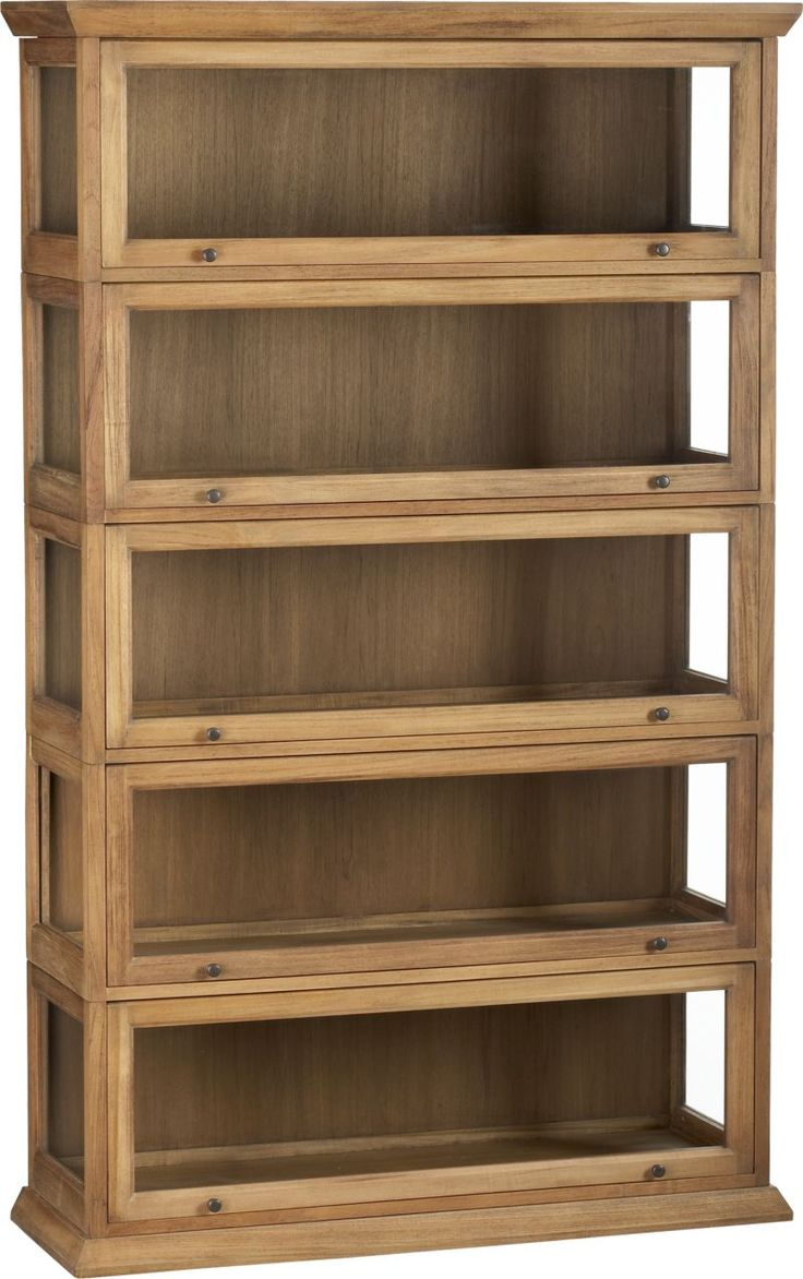 17 best images about diy barrister bookcase on pinterest for Stacking bookcase plans