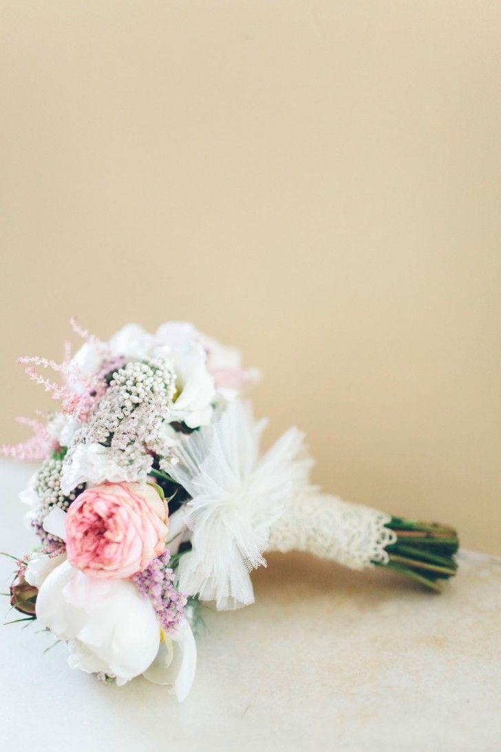 ramo novia romantico www.bodasdecuento.com