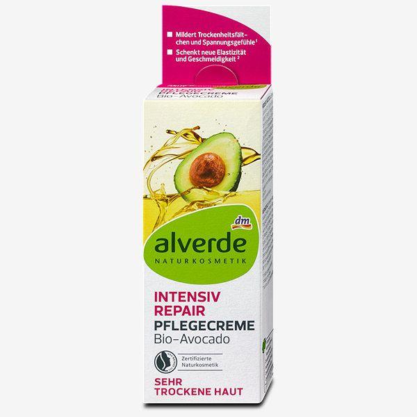 Alverde Intensiv Repair Pflegecreme Bio Avocado Pflege Alverde