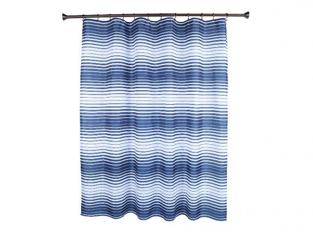 Hookless Shower Curtain Snap Liner : Best Shower Curtain Ideas