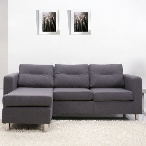 Found It At AllModern   Detroit Convertible Sectional Sofa And Ottoman