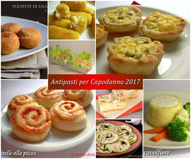 Antipasti per Capodanno 2017 ricette gustose