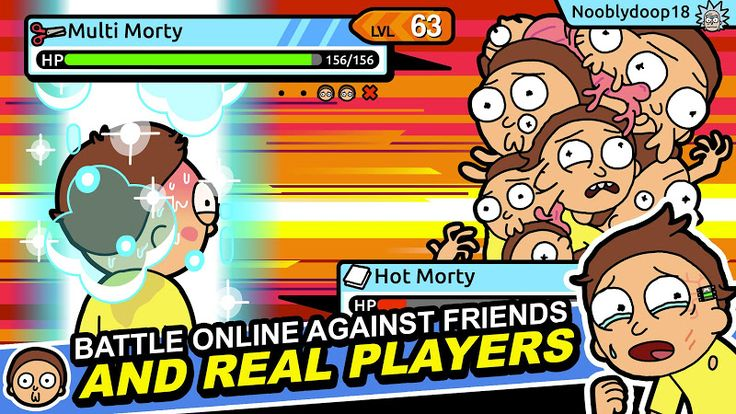 Pocket Mortys v2.2.2 [Mod Money]  Pocket Mortys v2.2.2 [Mod Money]Requirements:4.0Overview:Join Ricks throughout the multiverse as they get swept up in the latest craze: Morty training!  There are over 70 bizarre Mortys to recruit and train out there including Mustache Morty Wizard Morty Cronenberg Morty and more. Assemble a dream team then challenge rival Ricks by forcing your grandsons to battle each other. Command combine and level up your Mortys to prove that you're the greatest Morty…
