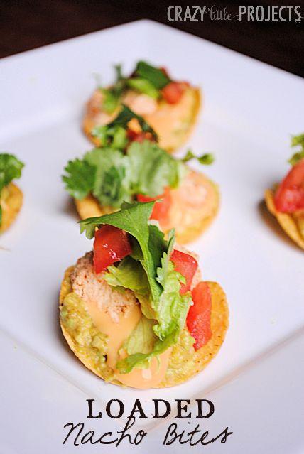 Easy Appetizer: Loaded Nacho Bites