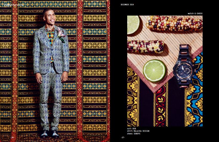 Happy Kwanzaa: Africa-inspired Photo Shoot | African Prints in Fashion