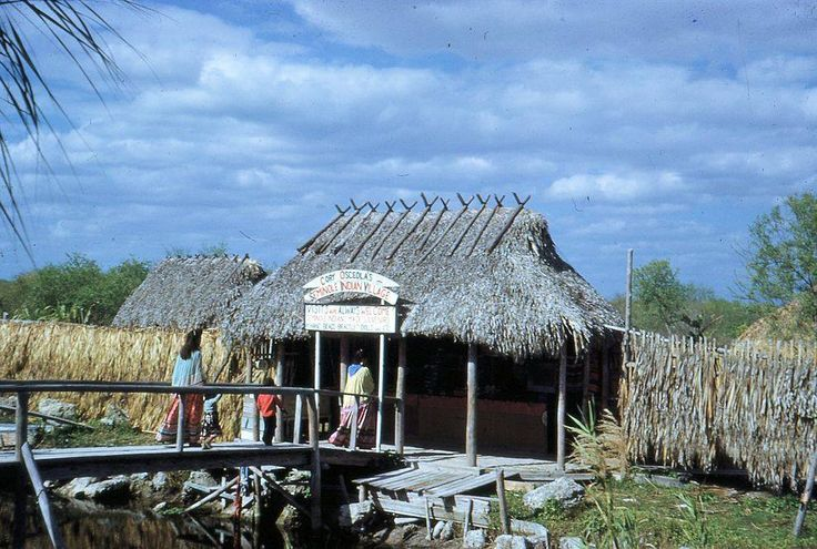 Cory Osceola's Seminole  Village on Tamiami Trail