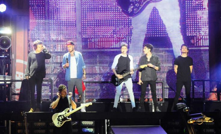 One Direction at the WWA tour in Montevideo, Uruguay - 06.05.14 #5
