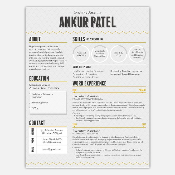 17 best Fun Things To Do images on Pinterest Resume ideas, Best - a template for a resume