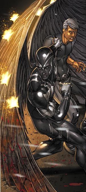 Archangel   Ángel y luego Arcángel, cuyo nombre civil es Warren Kenneth Worthington III, es un superhéroe del Universo Marvel creado por Stan Lee y Jack Kirby, para el primer número de The Uncanny X-Men #1 (septiembre, 1963), aunque posteriormente ha formado parte de otros grupos, como Factor X, los Campeones y los Defensores.