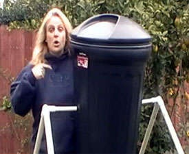 Build a Tumbling Composter for $25 or Less!