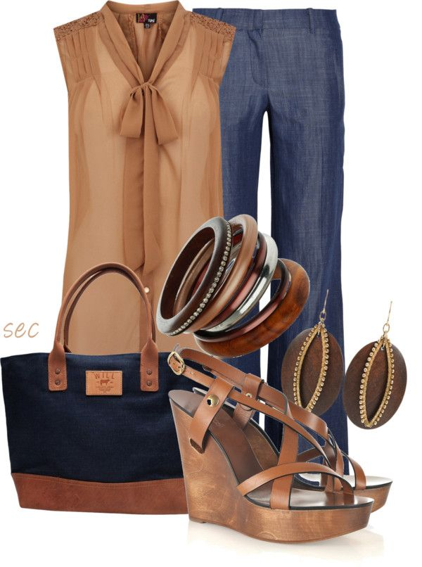 Love blue and brown
