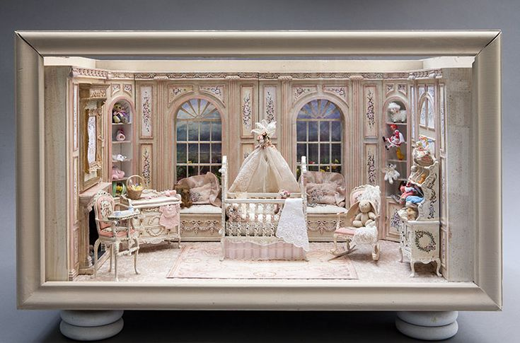 how to paint wood cabinets sam showcase of miniatures incredibly detailed baby 17242