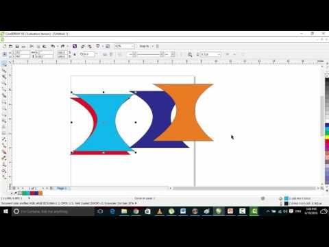 Shape Tools  corel draw graphic design part 8 in urdu and hindi video tu...