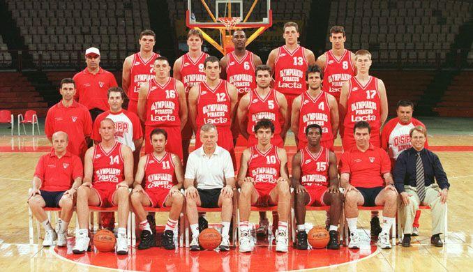 1997  Μπακατσιάς, Σιγάλας, Αντερσον, Παπανικολάου, Γαλακτερός, Νάκιτς, Φασούλας, Τόμιτς, Τάρλατς, Ζουρπένκο, Βελπ, Ρίβερς, Αμανατίδης, Γκρέι, Σούλης. Προπονητής: Ντούσαν Ίβκοβιτς