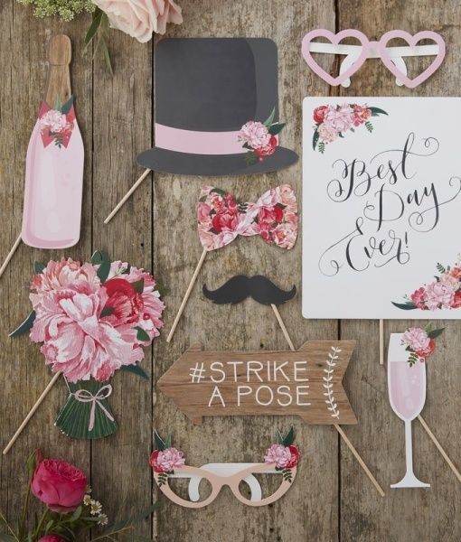 The ultimate in Boho Hen Party Props. Get the party started with the girls and these funny props