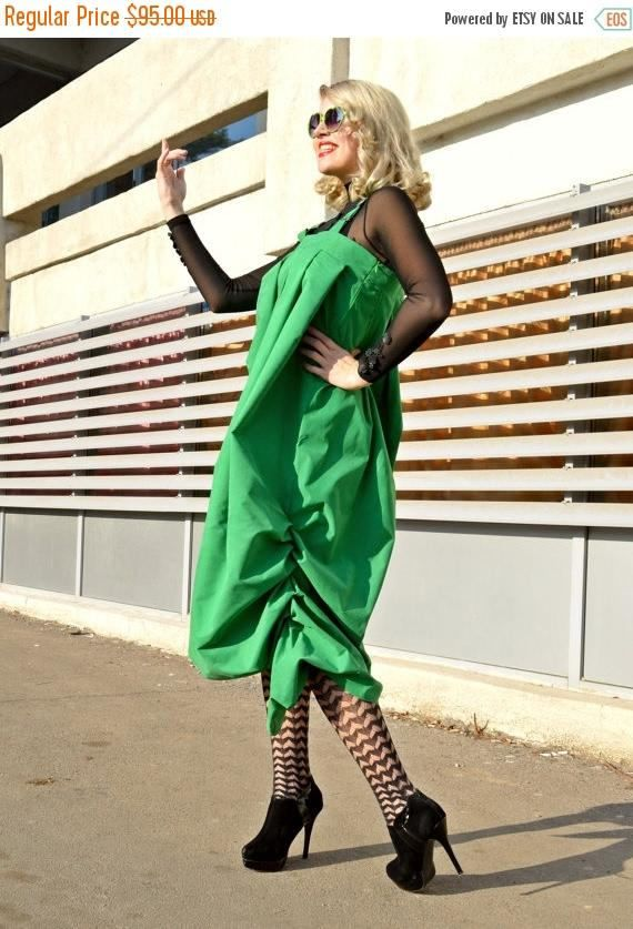 SALE 30% OFF Green Jumper Dress TDK160 Green Loose Funky https://www.etsy.com/listing/260489481/sale-30-off-green-jumper-dress-tdk160?utm_campaign=crowdfire&utm_content=crowdfire&utm_medium=social&utm_source=pinterest