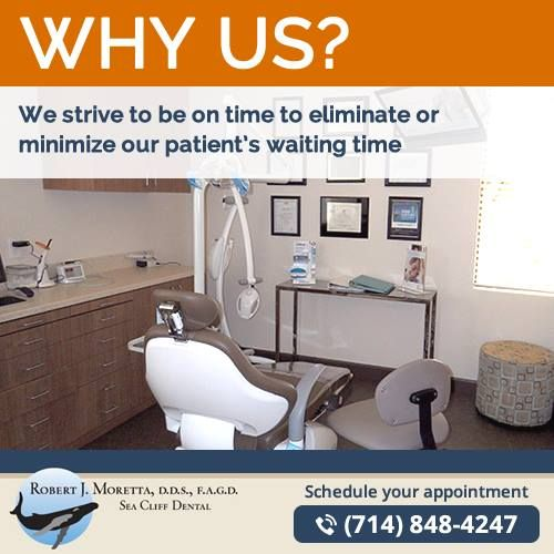 We know your time is valuable and we strive to be on time to begin and end our treatment sessions. We strive to provide better care of our patients, your comfort is always our priority.   #huntingtonbeach #california #dentist #cosmeticdentist #huntingtonbeachdentist