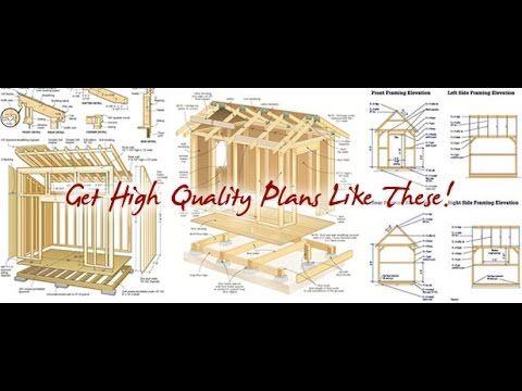 Garden Sheds Plans