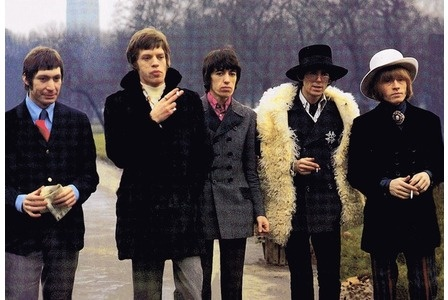 The Rolling Stones in Green Park, London, 1967. (Bill ...
