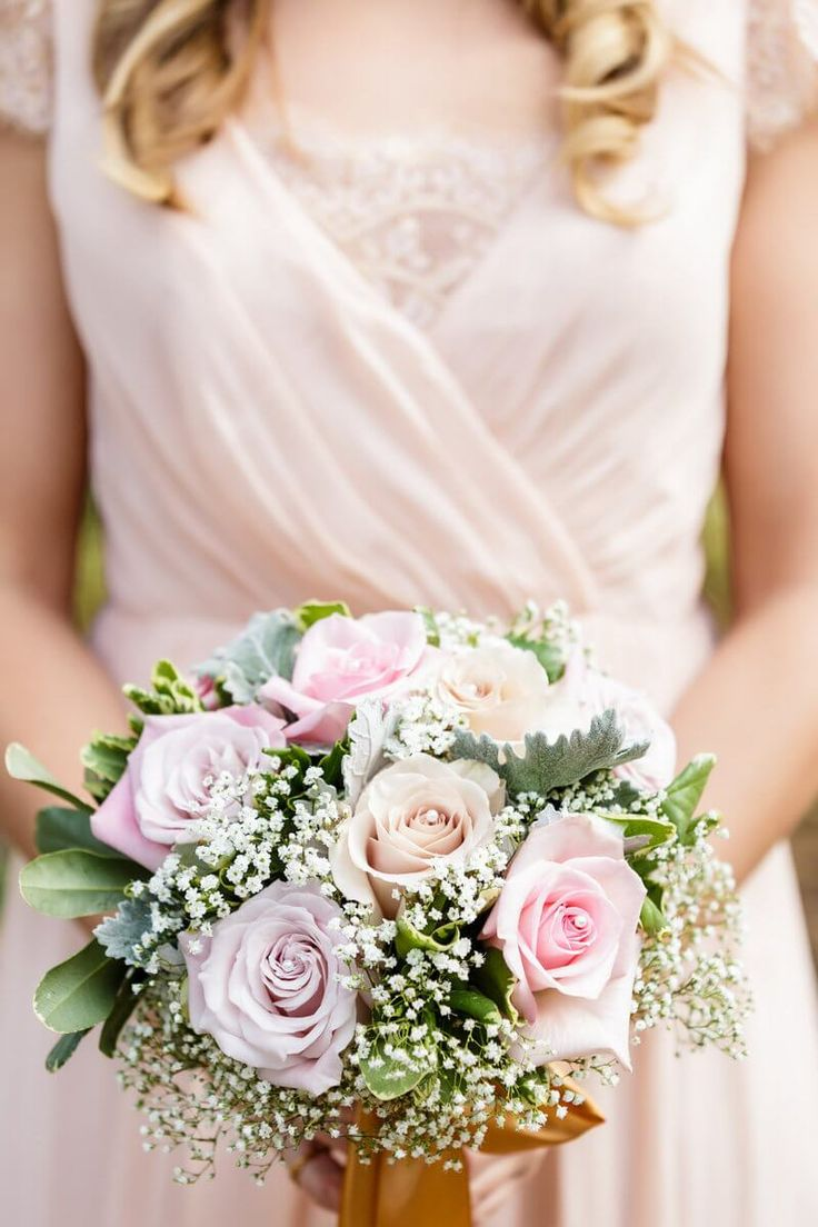 vintage glam wedding - bouquet