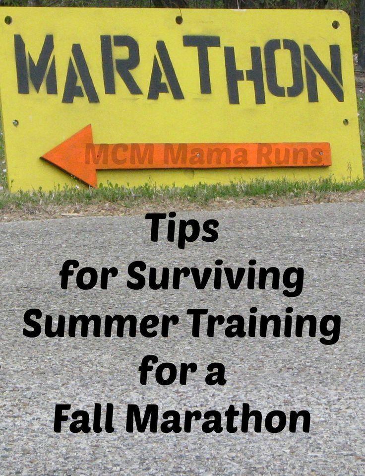 Surviving Summer Training for a Fall Marathon