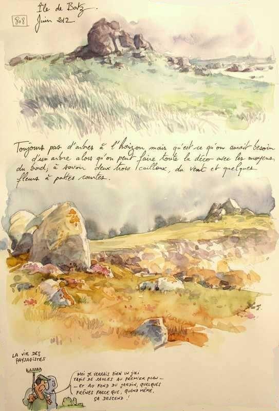 25 novembre 2013 -  Une Bretagne par les Contours / Île de Batz