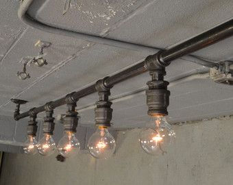 Farm House Light Pendant Lighting Wood Light by WestNinthVintage