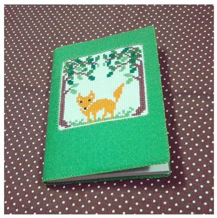 Woodland cross stitch
