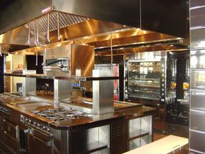 Www Stainlesssteeltile Com Likes This Commercial Kitchen Design For Resturants Met Led