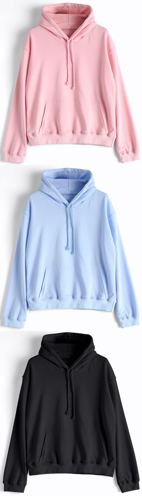 Up to 80% OFF!  Casual Kangaroo Pocket Plain Hoodie. Zaful,zaful.com,zaful fashion,tops,womens tops,outerwear,sweatshirts,hoodies,hoodies outfit,hoodies for teens,sweatshirts outfit,long sleeve tops,sweatshirts for teens,winter outfits,fall outfits,tops,sweatshirts for women,women's hoodies,womens sweatshirts,crop top hoodie,cute sweatshirts,floral hoodie,crop hoodies,designer hoodies,oversized sweatshirt @zaful Extra 10% OFF Code:ZF2017